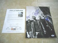 Godsmack Band Signed Autographed 11x14 Photo All 4 Sully +3 PSA Certified #1 F2
