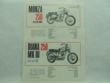 0440.69.110 Mark III OEM Ducati Singles Footpegs NOS Diana