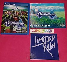 ONE WAY HEROICS MYSTERY CHRONICLES PS VITA LIMITED RUN NEUF VERSION US 5000EX