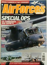 Air Forces Monthly Sept 2015 Special Ops US Commandos & Ospreys FREE SHIPPING sb