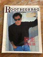 Billy Joel The Bridge Tour Concert Program Root Beer Rag Special Edition 1986