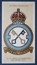 No 16 (Army Co-Operation)  Squadron  Royal Air Force  Original Vintage Card
