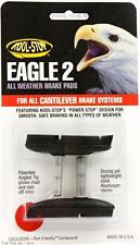 Kool-Stop Eagle 2 Cantilever Bike Brake Pads Smooth Post Dry Use - Black