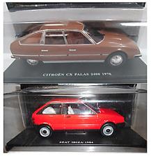 Lote 2 Coches : Seat Ibiza (1984) y Citroen CX Palas 2400 (1976) - 1:24