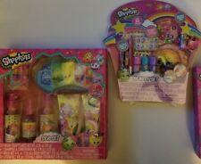 Ultimate Shopkins Gift Set  80 Pcs Beauty Set 7 Pcs Spa Kit NIB