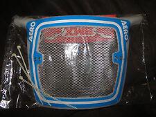 Vintage Aero BMX Number Plate - NOS Blue