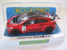 SCALEXTRIC C4042 JAGUAR I PACE  ETROPHY #3 RED NEW RELEASE