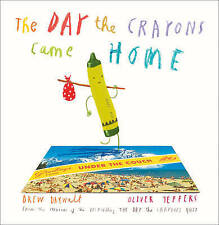 The Day The Crayons Came Home by Daywalt, Drew | Hardcover Book |CLEARANCE