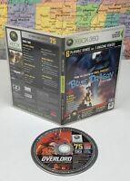 SHIPS SAME DAY Official Xbox 360 Magazine Game Demo Disc 75 Blue Dragon Oct 2007