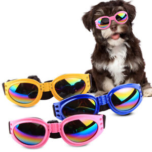 Pet Dog Sunglasses UV Glasses Dog Eye Wear Protection Glasses Puppy Goggles HOT