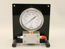 Intermediate Pressure Gauge Pro Panel Wall Mount Table Stand Scuba Service