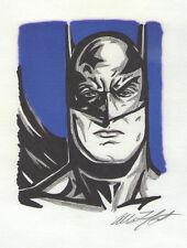 BATMAN - PRELIMINARY ART FOR ARTIST ALLISON LEFCORT'S PAINTING BATMAN
