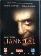 Dvd Hannibal di Ridley Scott 2001 Usato