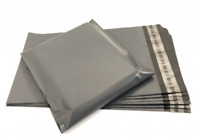"""Large Strong Grey Mailings Bags 10"""" x 14"""" Postage Shipping Post Self Seal Strip"""