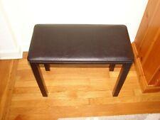 Yamaha Piano Bench/Chair/Stool with Padded Seat Black. ORIGINAL