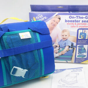 The First Years On-the-Go Portable Inflatable Booster Seat High Chair Outdoor