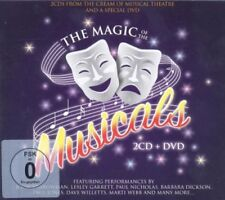 Magic of the Musicals 2 Cds & DVD Songs from the west End & Broadway Box set