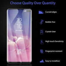 For Samsung Tempered Glass Screen Protector UV Liquid Adhesive Film Protect