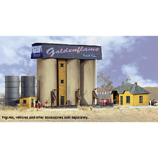 NEW Walthers N Scale Building Kit Clarkesville Depot 933-3246