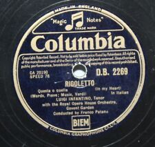 "10"" 78-Luigi Infantino-Rigoletto-Columbia D.B.2269 - 1946"
