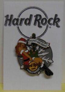 Hard Rock Cafe Broche Vacances Neige Fille Hollywood California Le