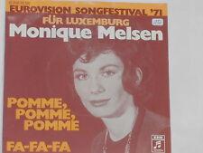 "MONIQUE MELSEN -Pomme, Pomme, Pomme- 7"" 45 (Eurovision Songfestival '71)"