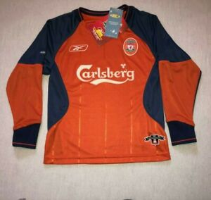 "Liverpool 2003 2004 goalkeeper shirt RARE BNWT STILL HOLY GRAIL !! Reebok 24"""