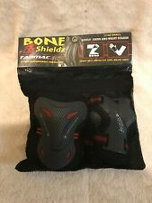 New Bone Shields Tarmac 360 Adult Small Rollerblade Knee and Wrist Guards