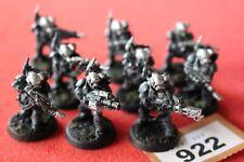 Games Workshop Warhammer 40k Kasrkin Stormtroopers Squad Metal 9 Figures OOP