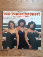 The Three Degrees – Hits! Hits! Hits! SHM 3086 Vinyl, LP, Compilation