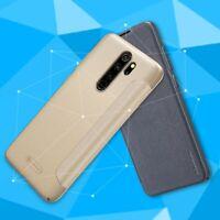 NILLKIN Sparkle Series PU Leather Flip Case Cover for Xiaomi Redmi Note 8 Pro