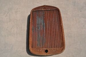 1930 Essex  Hudson  radiator  shell  with winter front
