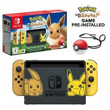 Pokemon Lets Go Evee Nintendo Switch 32GB Console & Pokeball NEW & SEALED