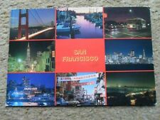 .POSTCARD.MULTIVIEW.SAN FRANCISCO,CALIFORNIA..POSTED 1990 36cSTAMP.