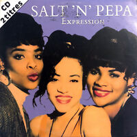 Salt 'N' Pepa ‎CD Single Expression - France (G/VG)