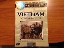 Vietnam: A Retrospective from National Archives (DVD, 6-Disc Set) Very Good