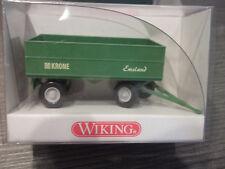 Wiking 388 01 17  Landwirtschaftlicher Anhänger (Krone Emsland) mit OVP HO 1:87