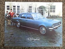 HOLDEN 1970 HG BROUGHAM BROCHURE PLUS MATCHING COLOUR CHART 100% GUARANTEE