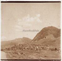 Albania Foto Placca Da Lente Stereo Positive E9 Vintage Ca 1910