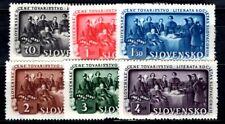 SLOWAKEI 1942 105-110 ** POSTFRISCH TADELLOS SATZ (09842