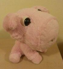 Peluche maiale amici della fattoria big headz pig plush toys senza cartellino