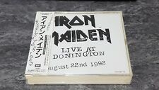 Iron Maiden Live At Donington August 22nd 1992 Japan 2CD OBI Strip GREAT COND