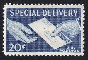 USA 1954 Special Delivery 20¢, MNH sc#E20