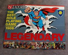 DC Heroes Role Play 1987 Nightwing Titans Leagion Joker Watchmen PROMO Poster VF