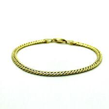 Armband Panzerarmband 14kt 585 Gelbgold