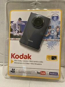 New Kodak Zm2 (2010) Mini HD Video Camera Waterproof 720p Camcorder