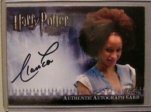 Harry Potter-Elarica Gallacher-Waitress-HBP-Film-Movie-Signature-Autograph Card