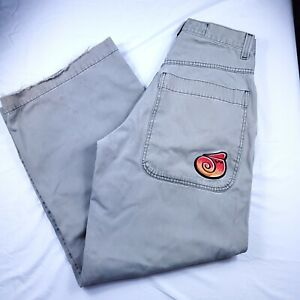 Vintage Mens JNCO Twin Cannon Classic Edition Gray Denim Jeans Size 30 x 31.5