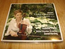 Isabelle Faust Brahms Concerto Harmonia Mundi CD New signed Neuf signé