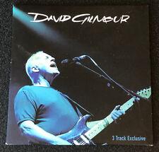 David Gilmour - AOL Sessions CD - 3 Track Promo